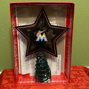 Miami Marlins Mosaic Tree Topper MLB